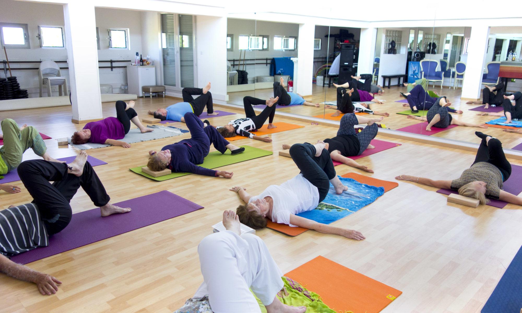 c'est la rentrée de la gymnastique holistique à l'école Bouichet Sawas