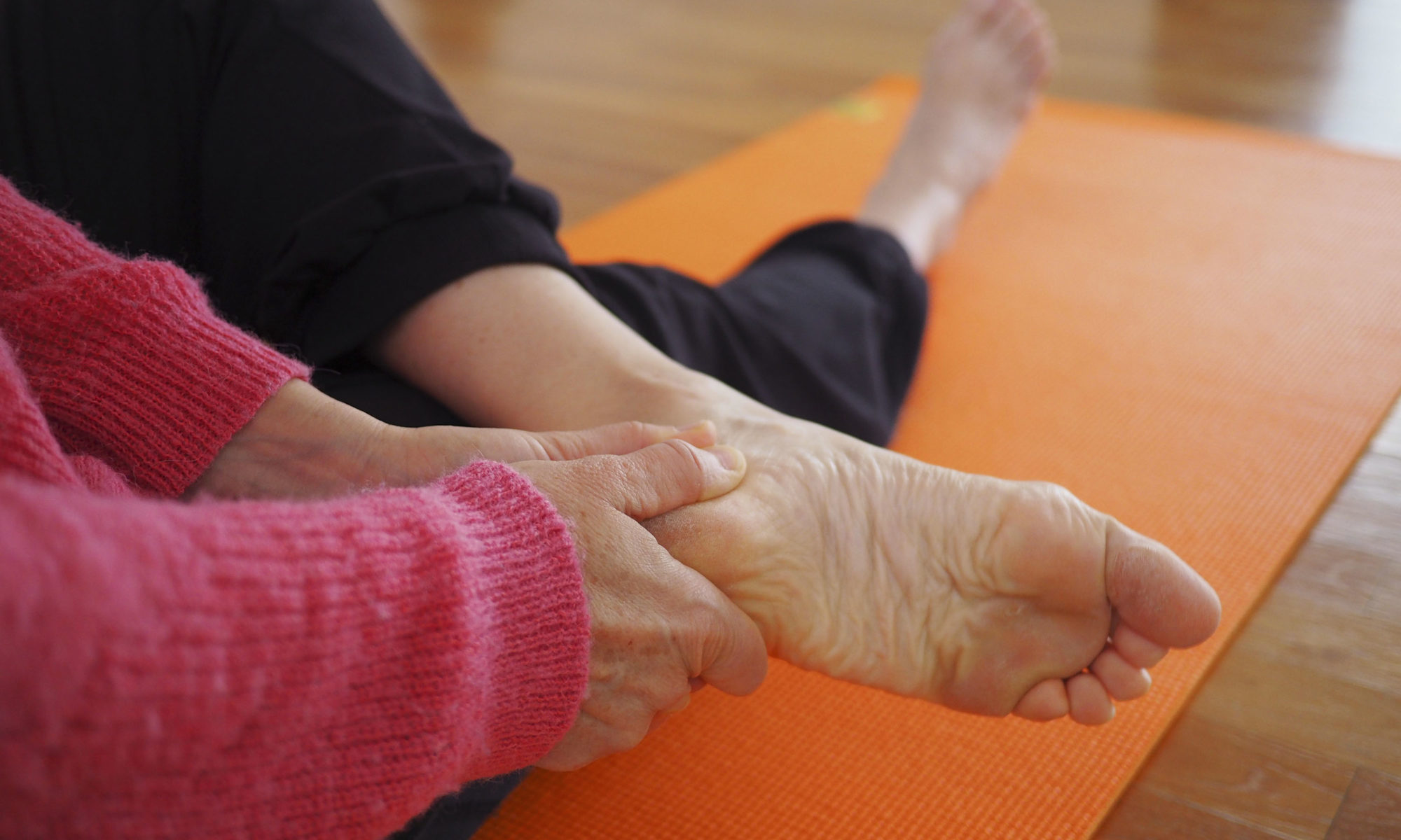 pied équilibre et mouvement - méthode Ehrenfried